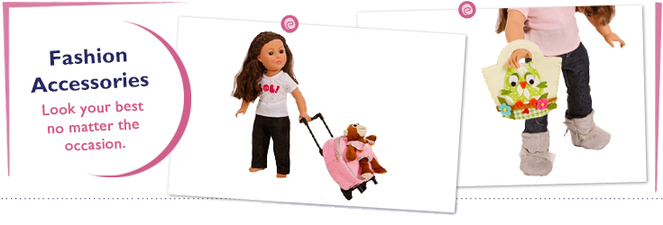 18 Inch Doll Fashion Accessories fit American Girl Dolls