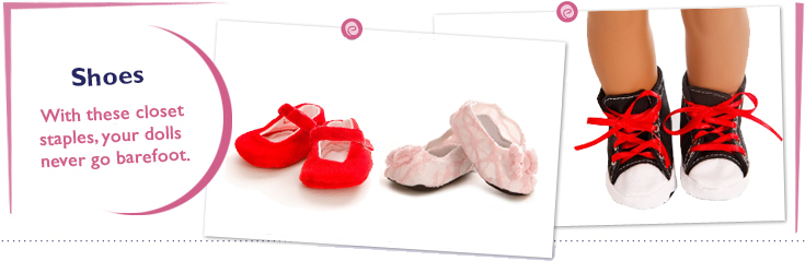 18 Inch Doll Shoes Fit American Girl Dolls