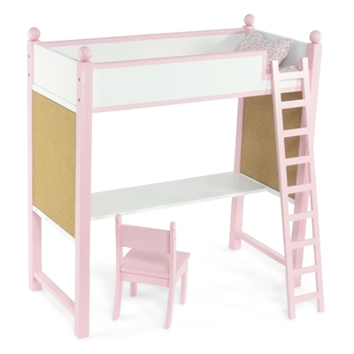 INS1032 - Loft Bed & Desk Product Assembly Instructions