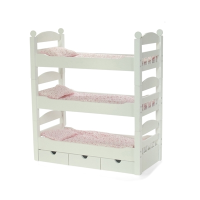 INS1047 - White Triple Bunk Bed Product Assembly Instructions