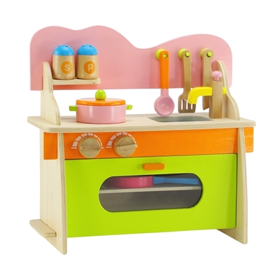 18 inch doll accessories kitchen set with oven stove