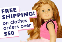 Free Shipping on clothes orders over $50!