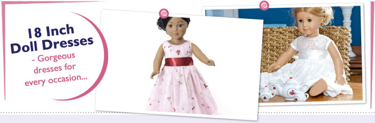 18 Inch Doll Dresses fit American Girl Dolls