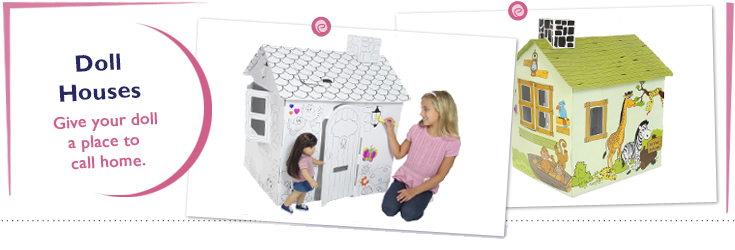 Dollhouses and Play Houses made to fit 18-Inch American Girl Dolls