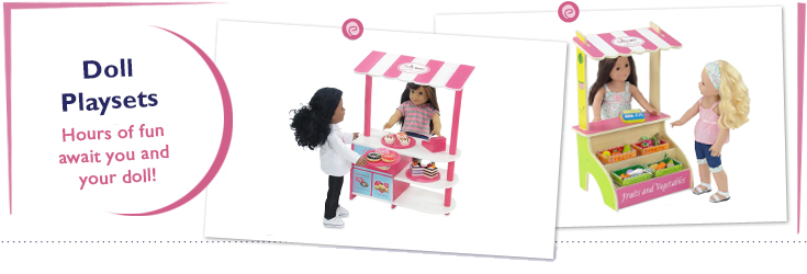 18 Inch Doll Playsets for American Girl Dolls
