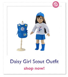 Daisy Girl Scout-Inspired Outfit with Accessories