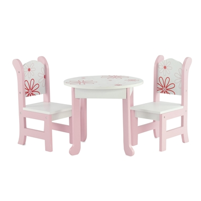INS1039 - Floral Table and Chairs Product Assembly Instructions