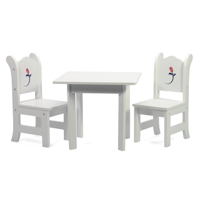 INS1046 - White Table & Chairs Product Assembly Instructions